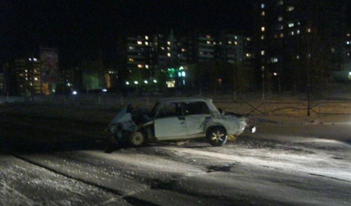 ВБратске 17-летний водитель протаранил грузовик