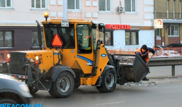В Иркутске проверяется работа управляющих компаний по уборке снега во дворах