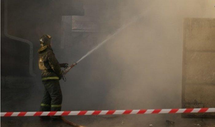 ВИркутске из-за пожара вмногоэтажке эвакуировались 30человек