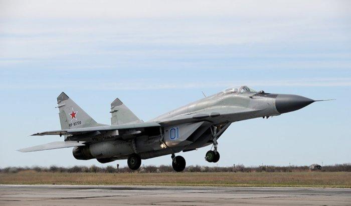Минобороны РФсообщило окрушении МиГ-29 вСредиземном море