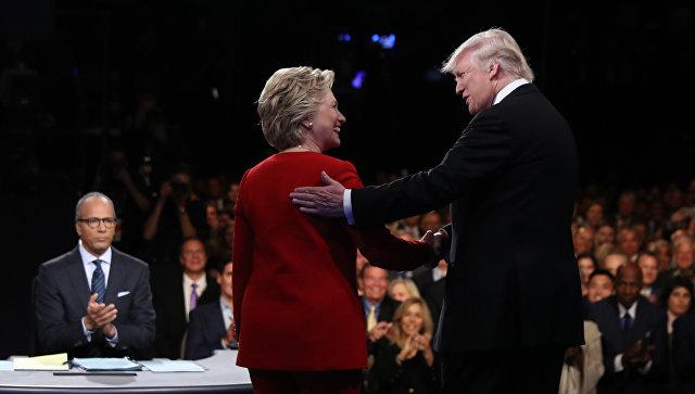 Клинтон опередила Трампа более чем намиллион голосов избирателей
