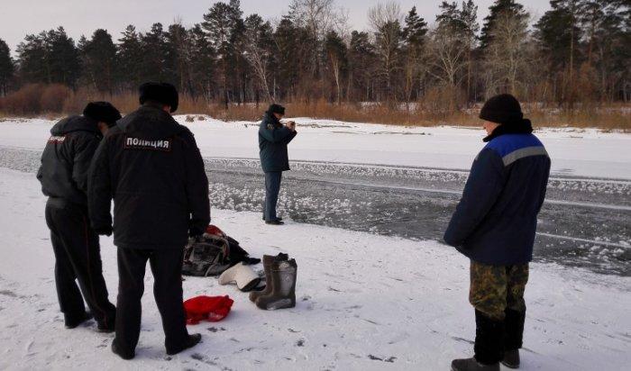 На дне реки Китой обнаружено тело водолаза