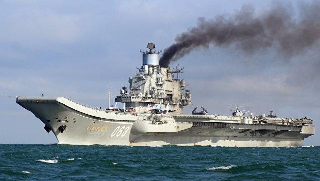 В2018году будет модернизирован единственный авианосец ВМФ России