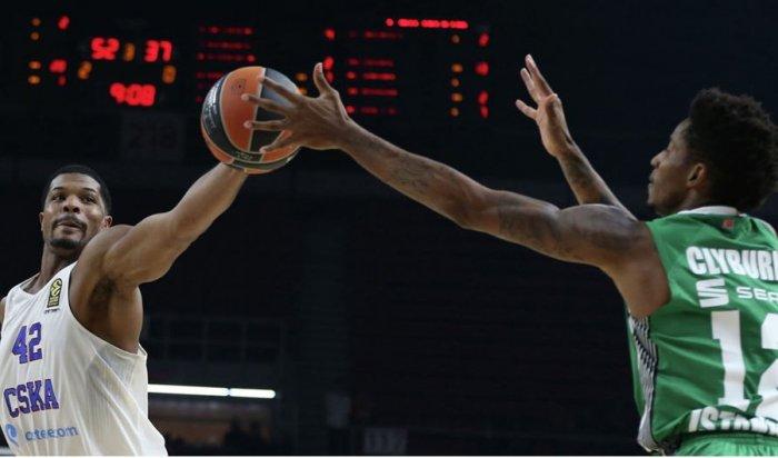 Баскетболисты ЦСКА потерпели первое поражение вЕвролиге сезона-2016/17