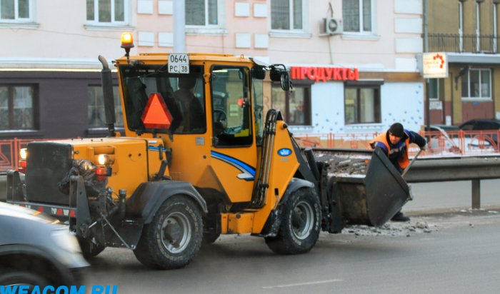 С улиц Иркутска за прошедшие сутки вывезли 58 тонн снега