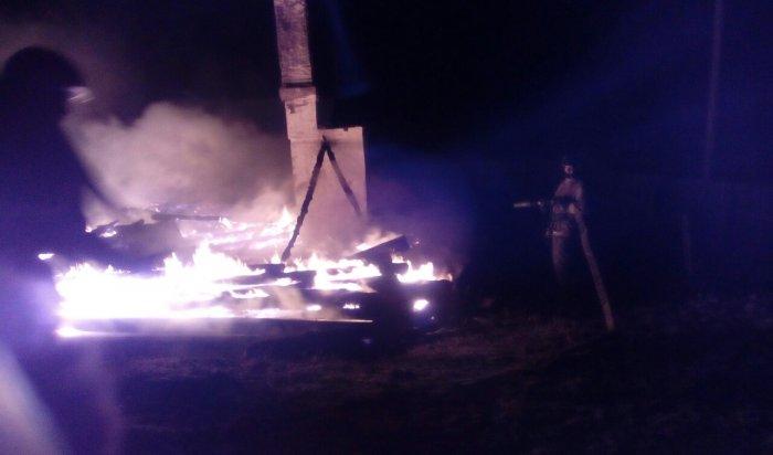 В Эхирит-Булагатском районе сгорела начальная школа
