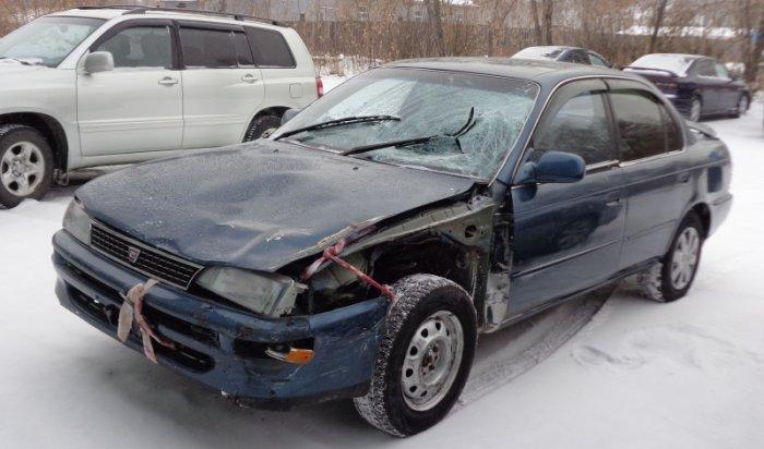 В Усолье-Сибирском задержан водитель, который сбил двух пешеходов и скрылся