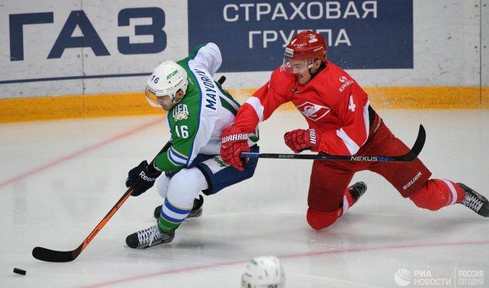 «Салават Юлаев» навыезде обыграл «Спартак»