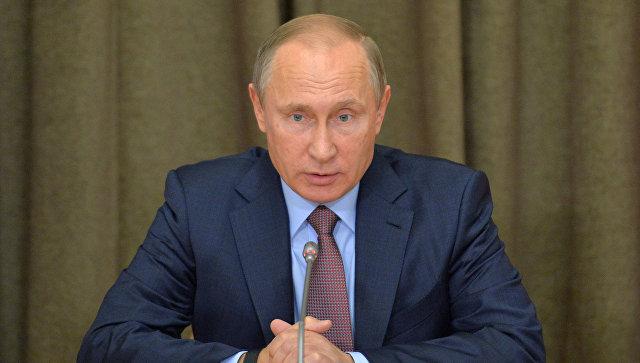 Путин предупредил овозможном различии риторики Трампа иего политики