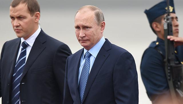 Путин назвал арест Улюкаева «печальным фактом»