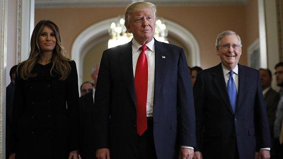 Трамп впервыйже день напосту президента начнет выход изТТП
