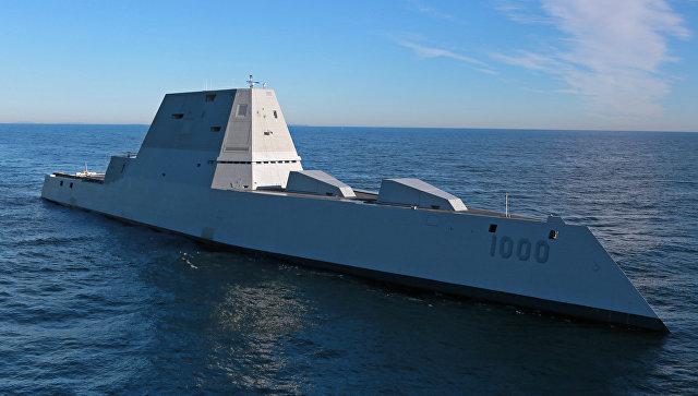Новейший эсминец ВМС США Zumwalt сломался вПанамском канале