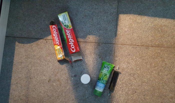 В аэропорту Иркутска задержали пассажира, перевозившего наркотики в тюбике зубной пасты