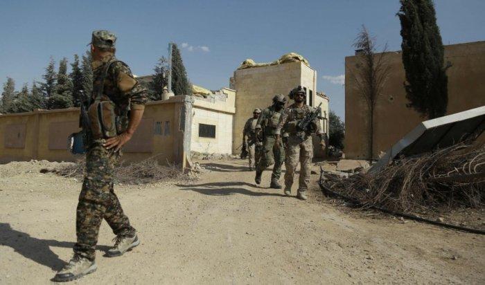 ВСирии входе операции против ИГИЛ погиб военнослужащий США