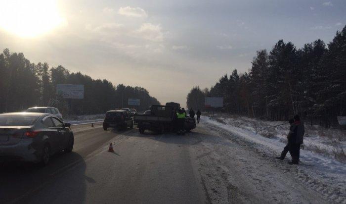 ВДТП наКачугском тракте погиб человек
