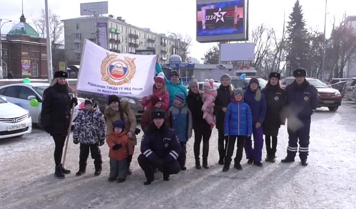 В День матери прошел  автопробег «Мамы Иркутска за безопасность»