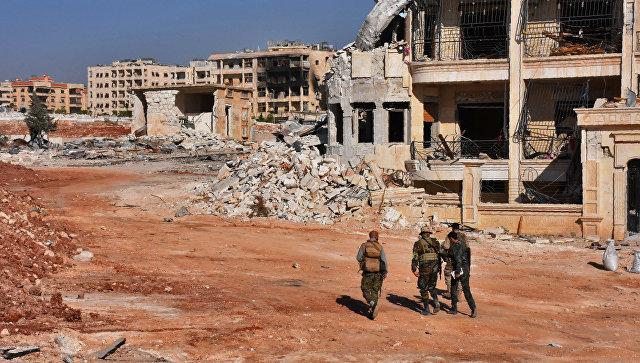 Ввосточном Алеппо более 40боевиков добровольно сложили оружие