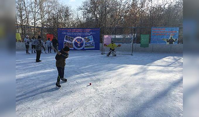 В Иркутске открылся сезон игр в хоккей с мячом