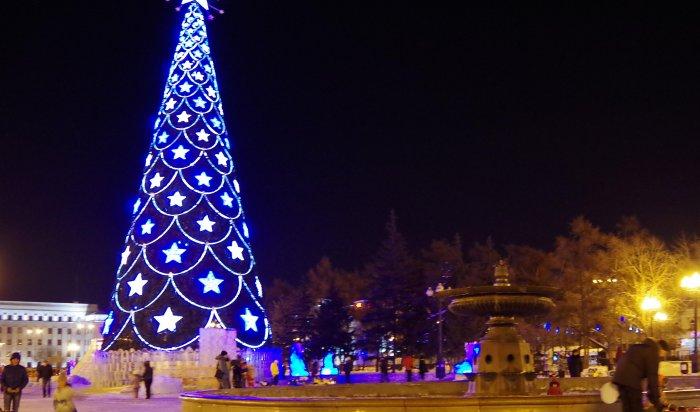 В Иркутске стартовали новогодние мероприятия