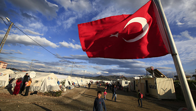 Эрдоган назвал причину вторжения турецкой армии вСирию