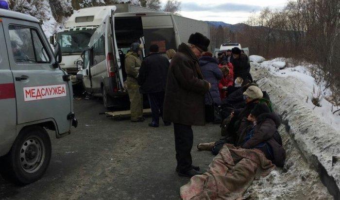 В Слюдянском районе скончалась еще одна пассажирка маршрутки, столкнувшейся с большегрузом