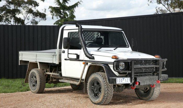 ВАвстралии поступит впродажу Gelandewagen утилитарной серии W461