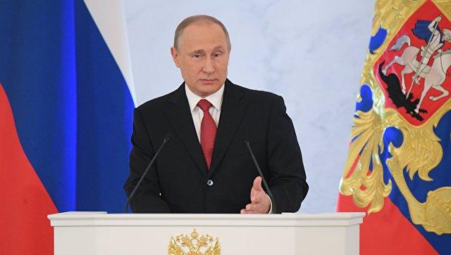 Политканал США полчаса транслировал выступление Путина