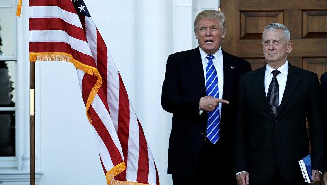 Трамп назначит генерала Мэттиса напост главы Пентагона