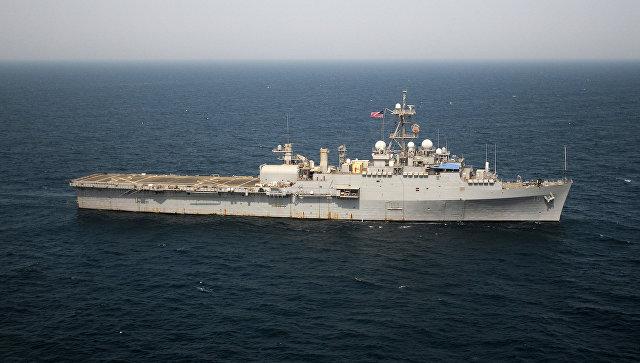 ВСредиземное море вошли два десантных корабля ВМФ США