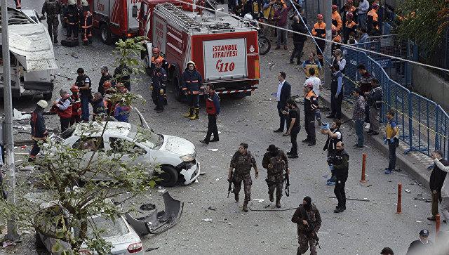 Курдская группировка взяла насебя ответственность затеракт вСтамбуле