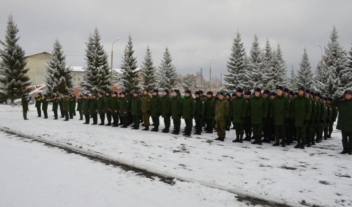 В Иркутской области 3128 человек направлены в войска для прохождения службы