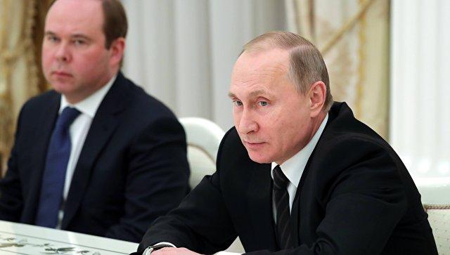 Путин назвал смену пяти губернаторов РФ«естественным процессом»