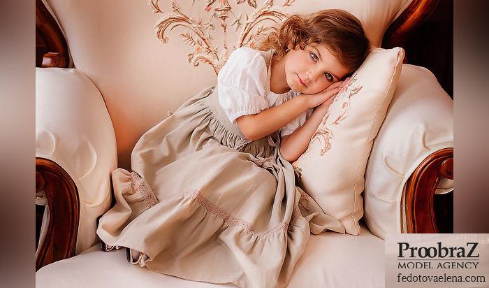Пятилетняя иркутянка стала самой красивой девочкой мира