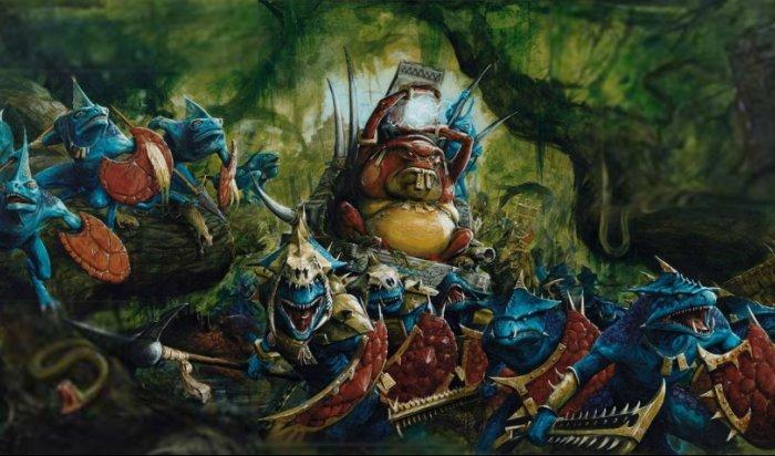 Втрейлере TotalWar: Warhammer 2люди-ящеры пробуют захватить мир