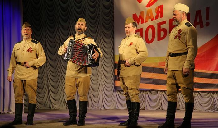 День Победы отметили в иркутскомТеатре народной драмы
