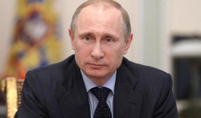 15 мая в Иркутск прилетает президент России Владимир Путин