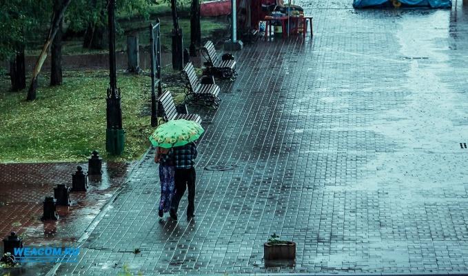 В Иркутске в ближайшие сутки ожидаются усиление ветра и грозы