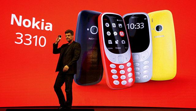 ВРоссии начались продажи обновлённой Nokia 3310