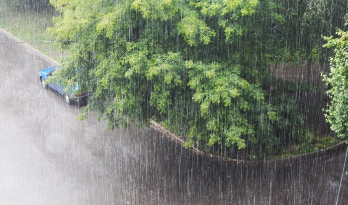 ВИркутской области ожидается сильный дождь ипорывистый ветер