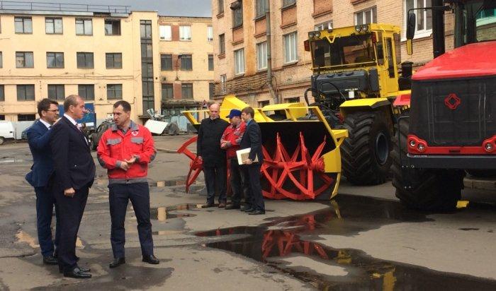 Иркутская область и петербургский тракторный завод подписали соглашение о сотрудничестве