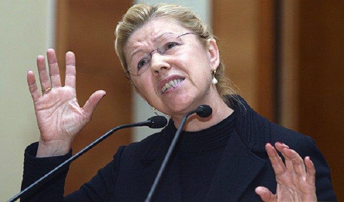 Сенатор Мизулина просит проверить Roshen после отравления детей конфетами вЧите