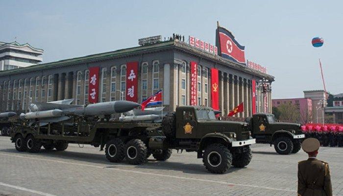 КНДР запустила противокорабельные ракеты