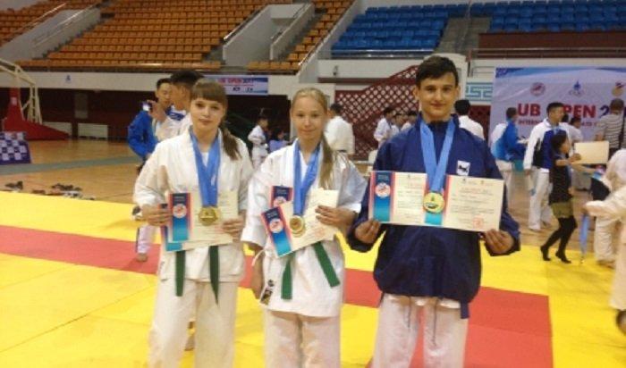 Спортсмены Иркутска завоевали пять золотых медалей на международных соревнованиях по каратэ