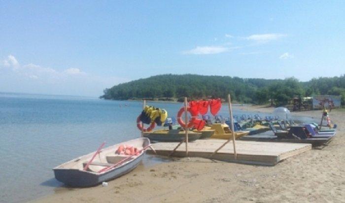 В Иркутске открылся пляж Якоби