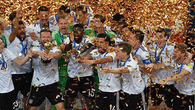 Сборная Германии стала победителем Кубка конфедераций