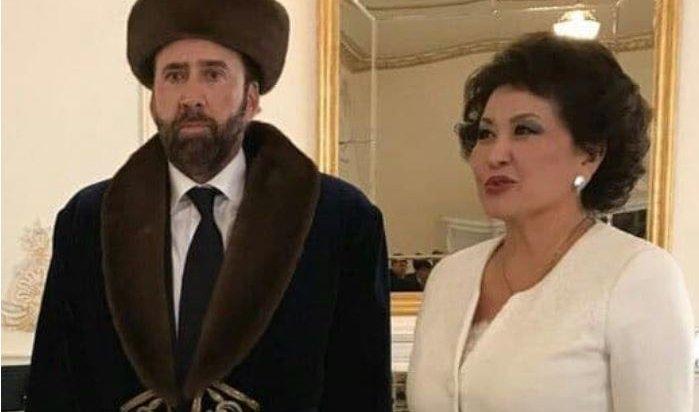 Николас Кейдж в казахском костюме стал звездой соцсетей