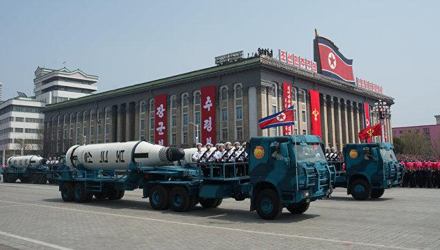 КНДР пригрозила нанести ракетный удар побазе США наГуаме