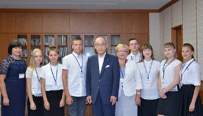Делегация школьников изИркутской области посетила Японию