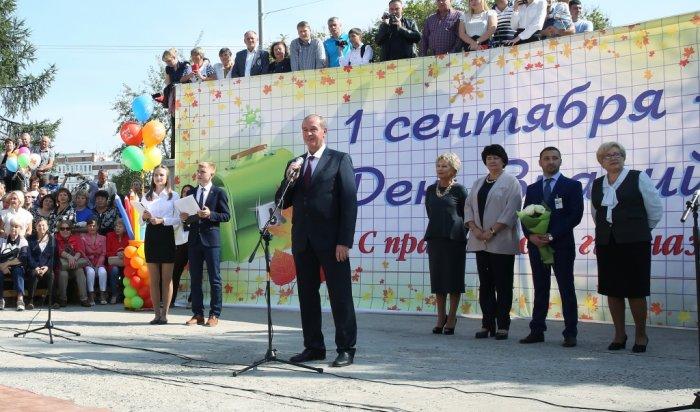 В этом году в Иркутской области в школы пошли более 313 тысяч детей