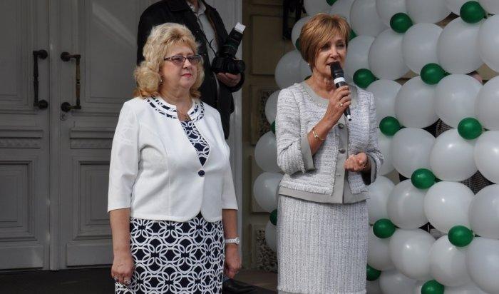 Депутаты Думы Иркутска поздравили школьников сДнем знаний